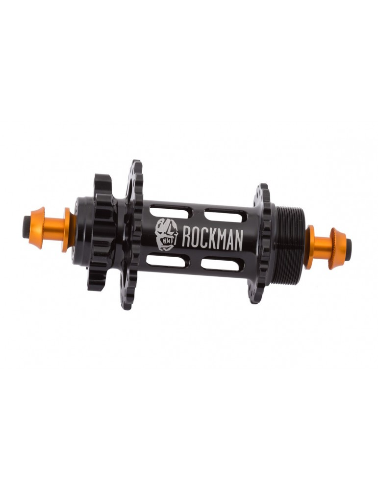 Rear hub ROCKMAN SLOT DISC 116mm (SCREW-ON)