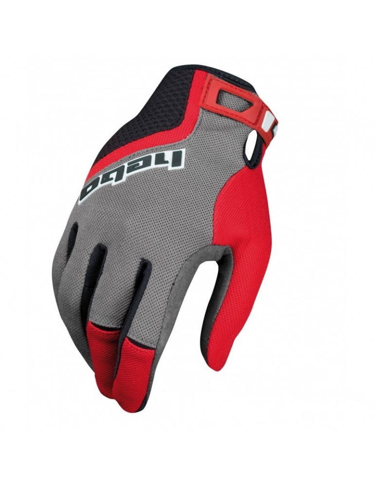 Fullfinger gloves HEBO CORNER | junior | red