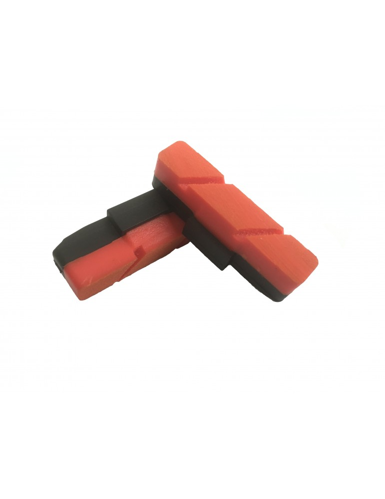 Trials brake pads CREWKERZ - RED for rim brakes Magura HS33 / HS11