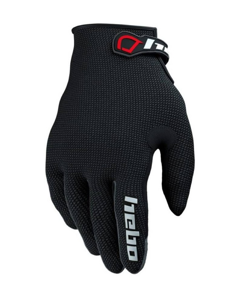Bike gloves HEBO TRIAL TEAM II | Adult | Black