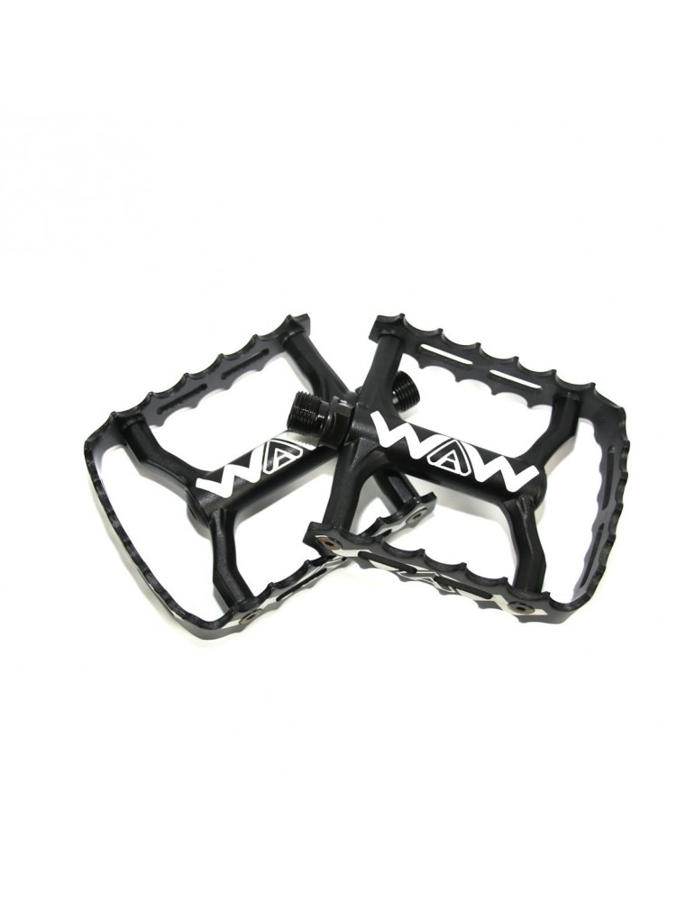 Light pedals WAW SIMPLE CAGE   caged   black