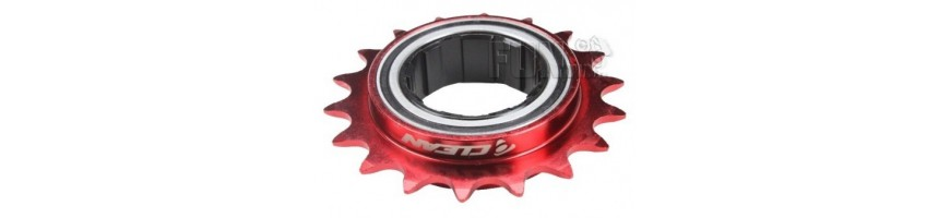Freewheels and spare parts