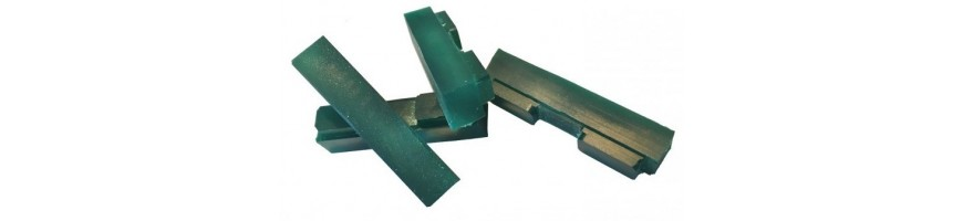 Brake pad refills for HEATSINK or ROCKMAN rim brake CNC pads