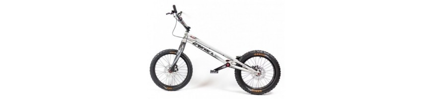 Trials bikes for yound kids and adults, racing bikes for top riders