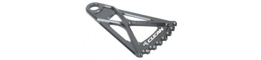 Frame protectors for trials bikes. Carbon protectors and disc protect.