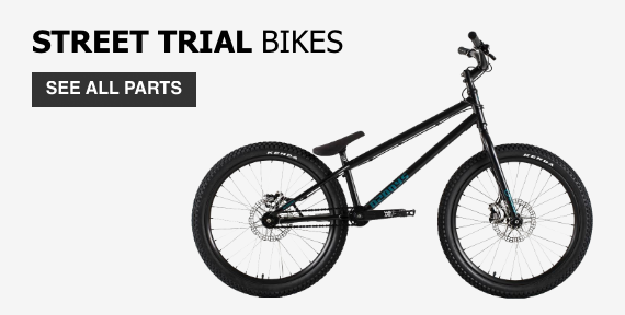 Street-trials bikes 24"